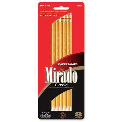 Paper-mate Mirado No. 2 Pencils 8/Pack (5888)