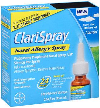 ClariSpray™ Full Prescription Strength Allergy Symptom Reliever Nasal Allergy Spray 0.54 fl. oz. Box