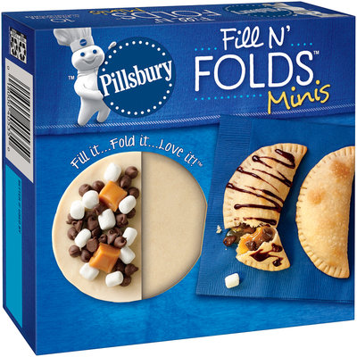 Pillsbury™ Fill N' Folds™ Minis 5 in. Dough Rounds 10 ct Box