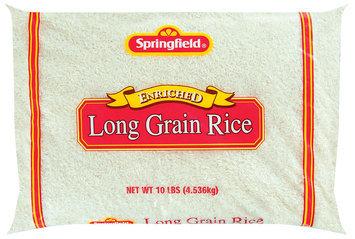 Springfield Long Grain Rice 10 Lb Bag
