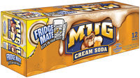 Mug® Cream Soda 12 Pack 12 fl. oz. Cans