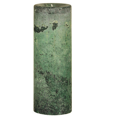 Oddity, Inc. Oddity 53326 3 in. x 8 in. Weathered Pillar Candle Woodland Pack of 2