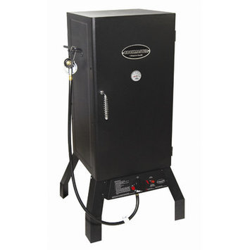 Masterbuilt Outdoor Smokers CookMaster Propane Gas Smoker Black