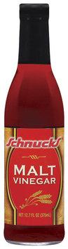 Schnucks Malt Vinegar 12.7 Fl Oz Glass Bottle