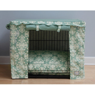 Bowhausnyc Elegancia Dog Crate Cover Size: Medium