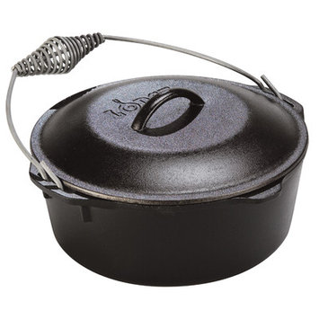 Lodge Logic 7-Quart Cast Iron Dutch Oven
