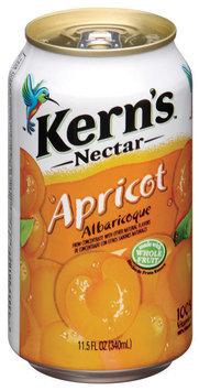 Kern's Apricot Nectar 11.5 Fl Oz Can