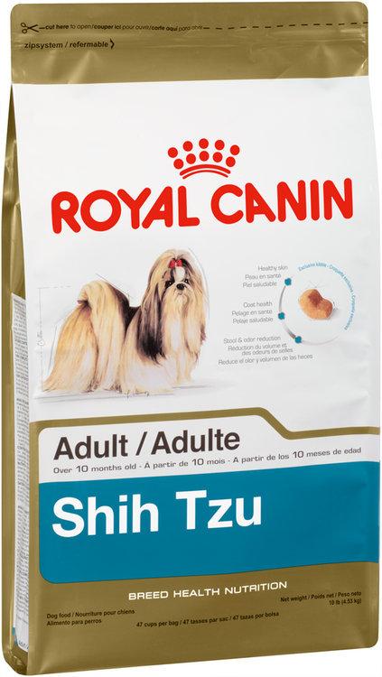 royal canin® breed health nutrition™ shih tzu dog food