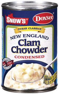 Snow's Ocean Classics New England Condensed Clam Chowder