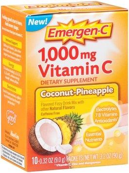 Emergen-C 1000mg Vitamin C, Coconut-Pineapple