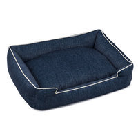 Jax And Bones Plush Velour Lounge Dog Bed Size: Large (32