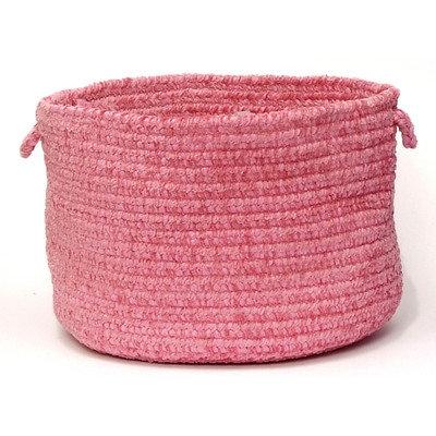 Spring Meadow Braided Utility Basket Color: Silken Rose