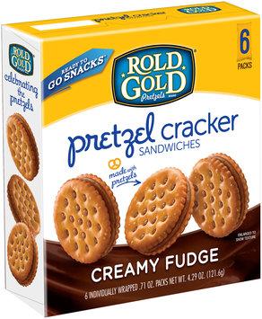 Rold Gold® Creamy Fudge Pretzel Cracker Sandwiches 6 - 071ozs
