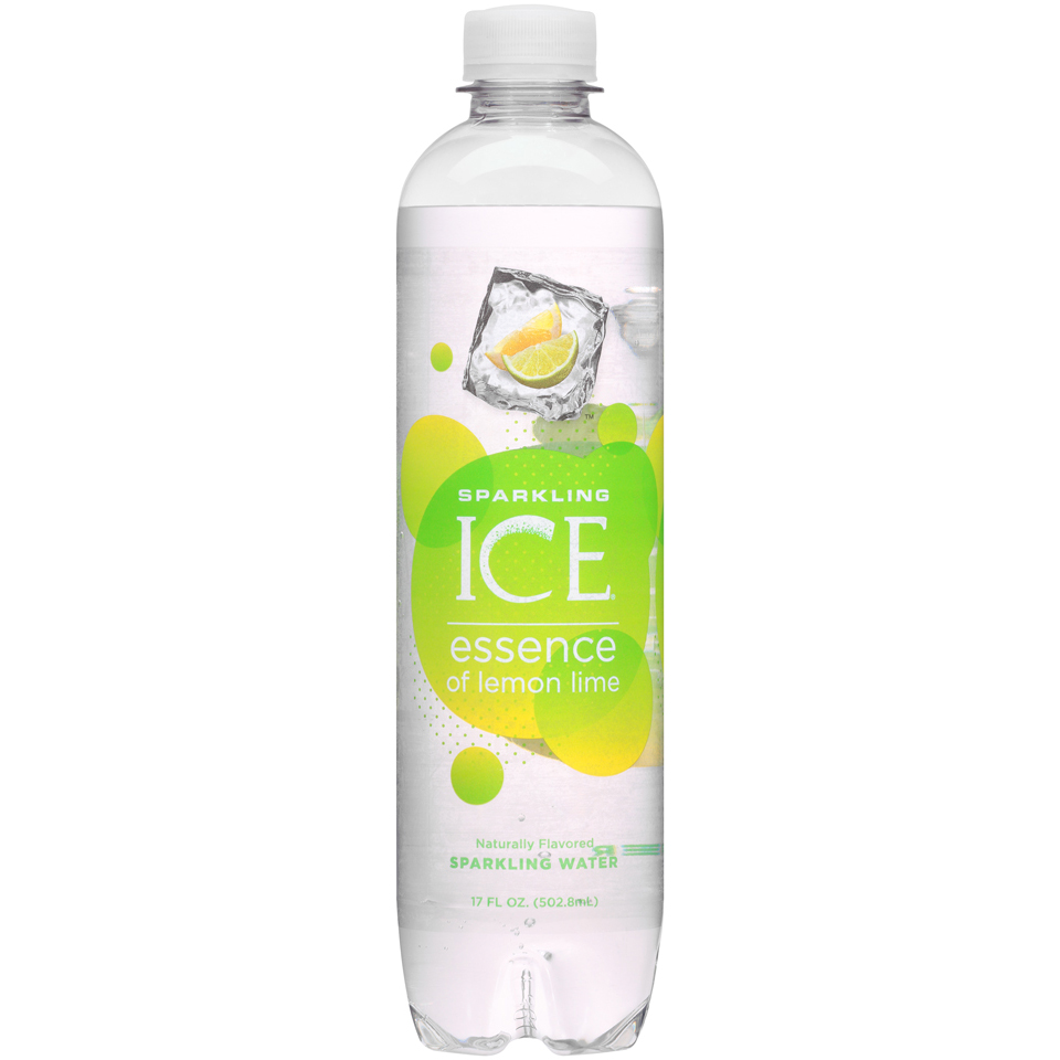 Sparkling Ice® Essence of Lemon Lime Sparkling Water 17 fl oz. Bottle