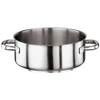 Paderno World Cuisine 11009-18 Rondeau Stainless Steel No Lid