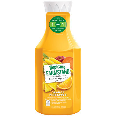 Tropicana® Farmstand™ Orange Pineapple 100% Fruit & Vegetable Juice
