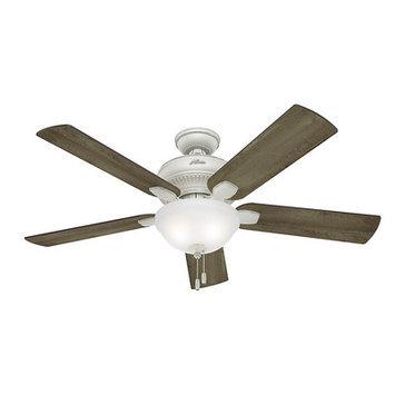 Hunter Fan Company Hunter Fan 54091 52 MATHESTON COTTAGE WHT FAN