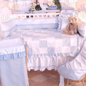 Brandee Danielle Prince Blue Deluxe 4 Piece Crib Bedding Set