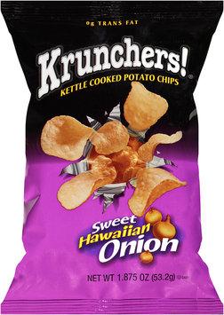 Krunchers!® Kettle Cooked Sweet Hawaiian Onion Potato Chips 1.875 oz. Bag