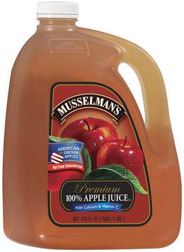 Musselman's Premium Apple Juice W/Calcium & Vit C 100% Juice  Gal Jug