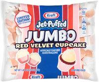 Jet-Puffed Jumbo Red Velvet Cupcake Marshmallows 20 oz. Bag
