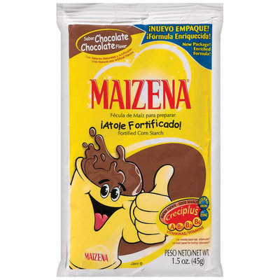 Maizena Chocolate Fortified Corn Starch 1.5 Oz Packet
