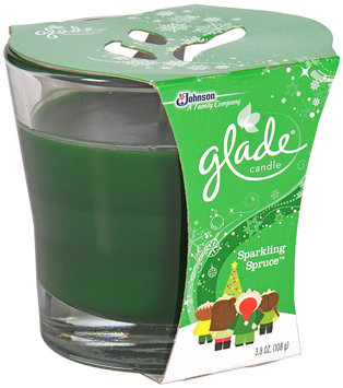 Glade® Holiday Collection Sparkling Spruce™ Jar Candle