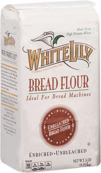 White Lily® Pre-Sifted Enriched Unbleached Bread Flour 5 lb. Bag