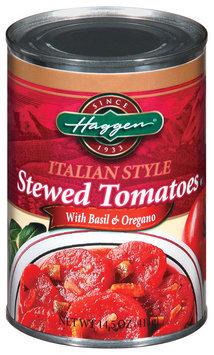 Haggen Stewed Italian Style W/Basil & Oregano Tomatoes 14.5 Oz Can