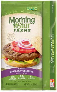 MorningStar Farms® Grillers® Original Veggie Burgers 9 oz. Pack