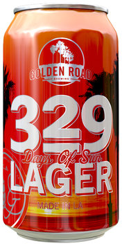 329 Days of Sun Lager Beer