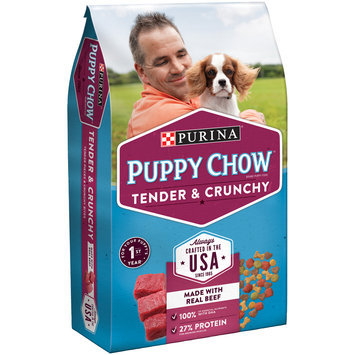 Purina Puppy Chow Tender and Crunchy Puppy Food Hero Bag