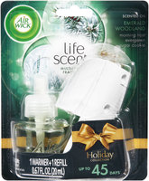 Air Wick® Life Scents™ Holiday Collection Emerald Woodland Scented Oil Warmer