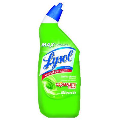 Lysol Power Toilet Bowl Apple Scent Cleaner (12 - 24oz Bottles)