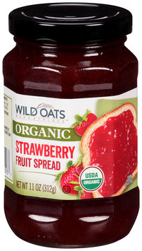 Wild Oats Marketplace™ Organic Strawberry Fruit Spread 11 oz. Jar