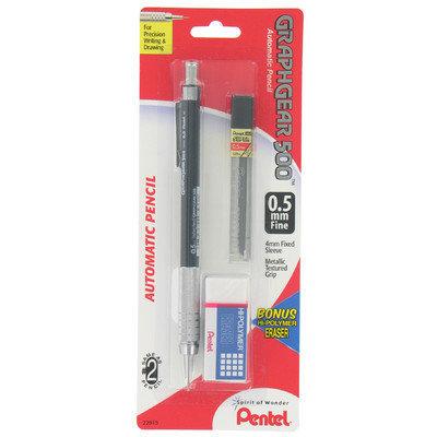 Pentel 0.5mm Fine Graphgear 500 Automatic Pencil