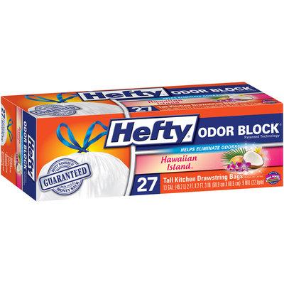 Hefty® Odor Block® Hawaiian Island Tall Kitchen Drawstring Bags 27 ct Box