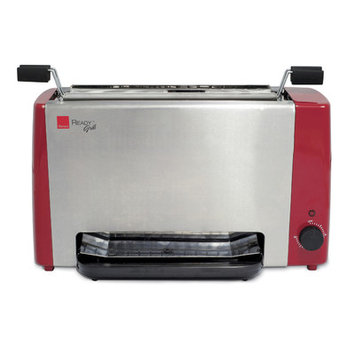 Ronco Ready Grill Color: Red