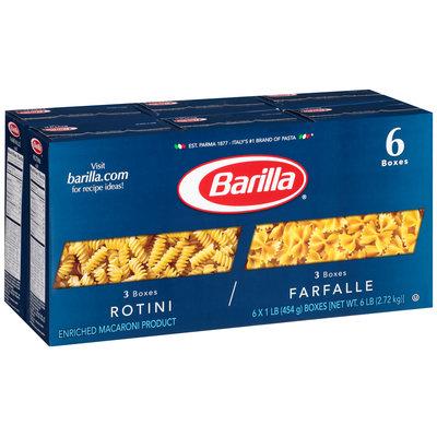 Barilla® Rotini/Farfalle Pasta 6-1 lb. Boxes