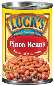 Lucks Seasoned W/Pork Pinto Beans 15 Oz Can