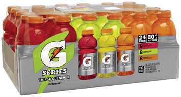 Gatorade® Fruit Punch/Lemon Lime/Orange Sports Drink Variety Pack 24-20 fl. oz. Bottles