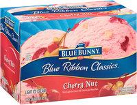 Blue Bunny® Blue Ribbon Classics™ Cherry Nut Light Ice Cream 1.75 qt. Carton