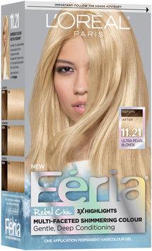 L'Oréal® Paris Feria® Rebel Chic 11.21 Ultra Pearl Blonde Hair Color 1 Kit Box