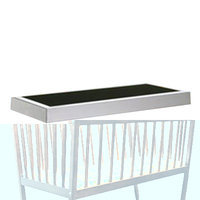 Royce Rolls Trash Liner Frame for Rectangular Receptacles Size: 1.5