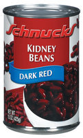 Schnucks Dark Red Kidney Beans 15 Oz Can