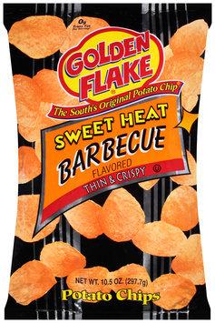 Golden Flake® Sweet Heat Barbecue Potato Chips 10.5 oz. Bag