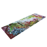 Kess Inhouse Chaos by Claire Day Yoga Mat