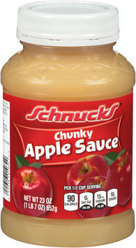 Schnucks® Chunky Apple Sauce 23 oz. Jar