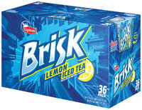 Brisk® Lemon Iced Tea 36 Pack 12 fl. oz. Cans