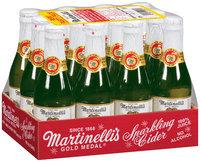 Martinelli's Gold Medal® Premium 100% Pure Juice 8.4 Oz Sparkling Cider 12 Pk Box